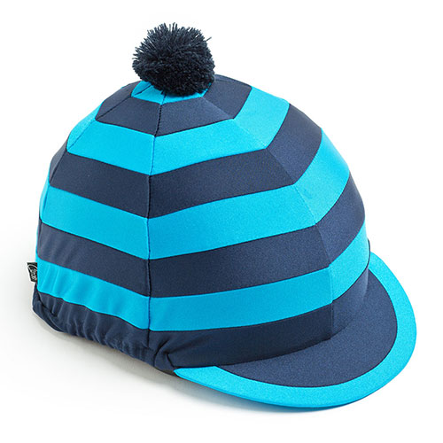 Carrots Blue Stripe Hat Cover Navy & Blue