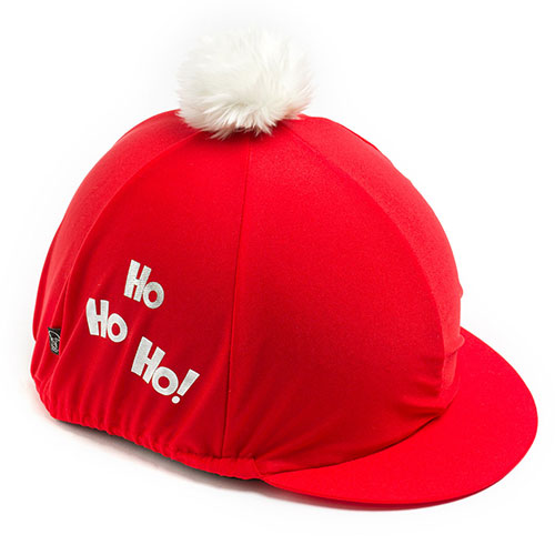 Carrots Red HO HO HO Hat Cover Red