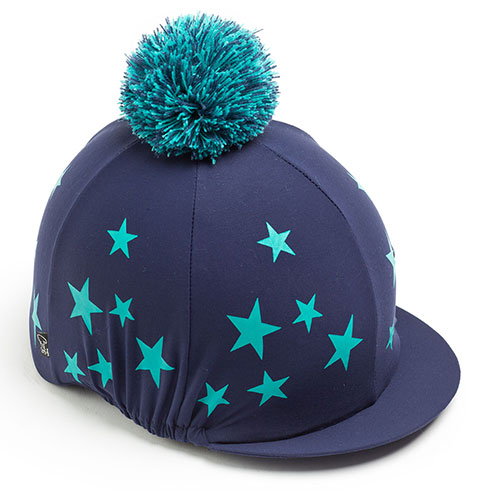 Carrots Navy/Teal Star Hat Cover Navy & Teal