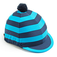 Carrots Blue Stripe Hat Cover