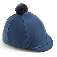Carrots Plain Navy Over Peak Hat Cover