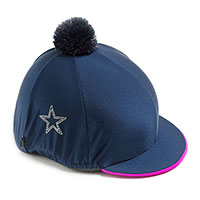 Carrots Plain Navy Diamante Star Hat cover