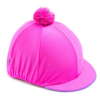 Carrots Plain Pink Hat Cover (Personalised)