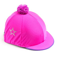Carrots Plain Pink Diamate Star Hat Cover