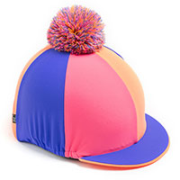 Carrots Orange/Pink Sectioned Hat Cover