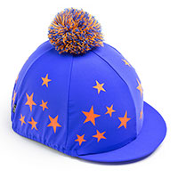 Carrots Blue/Orange Star Hat Cover