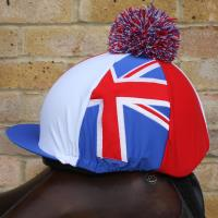 Union Jack Red White Blue Hat Cover