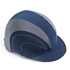 Show Pro Navy Show Pro Hat Cover Navy & Grey